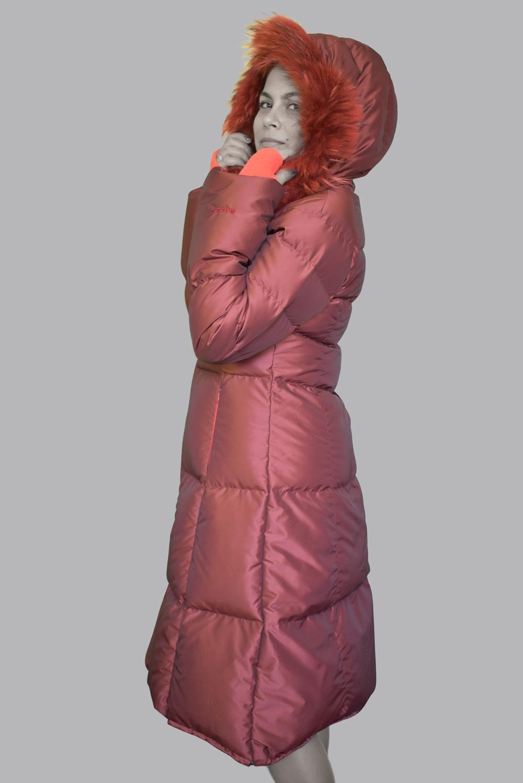 дамско пухено яке Кармелита