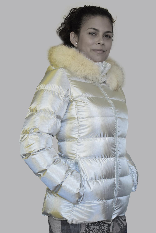 Дамско пухено яке Естрея