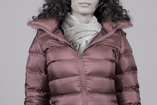 FEMALE DOWN jackets and vests