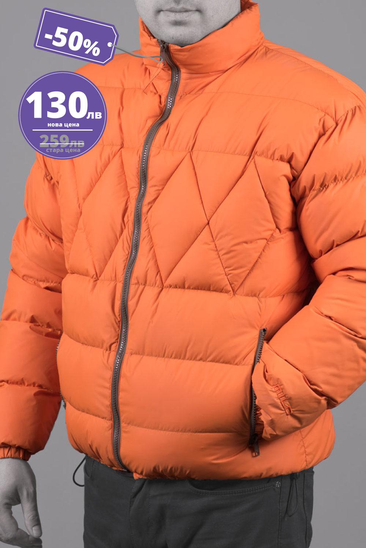 50% отстъпка на пухено яке АЛПИНА, цвят: оранжев