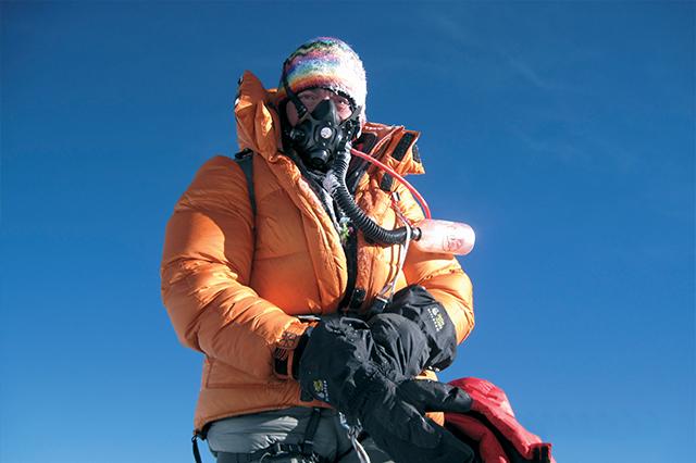 Камен Колчев на връх Еверест