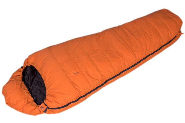 Пухен спален чувал Алпина
