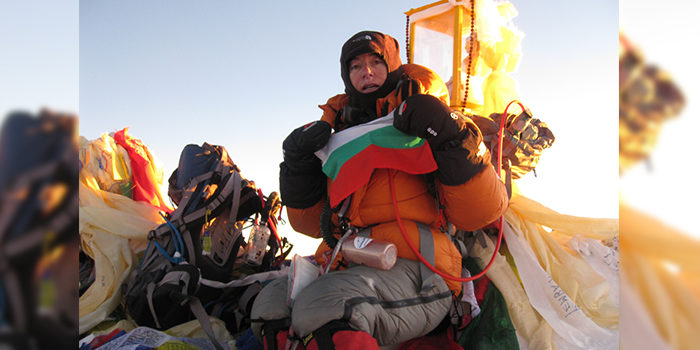 Петя Колчева, първата българка, покорила Еверест