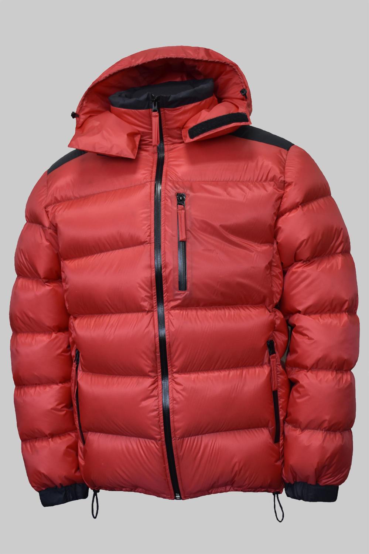 Пухено яке Алпина+ , червено