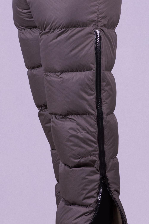 Пухен панталон Алпина, детайл, водонепропусклив цип