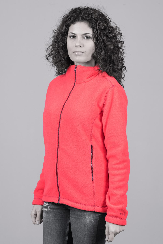 Дамско поларено яке Магнолия, оранжево-розово